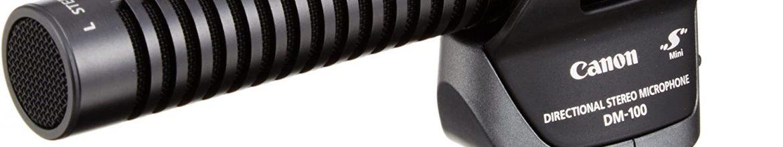 Canon DM-100 Micro directionnel HF